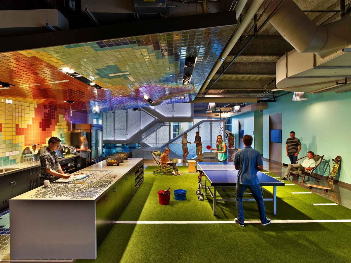 Creative Office: Orange Country Google HQ