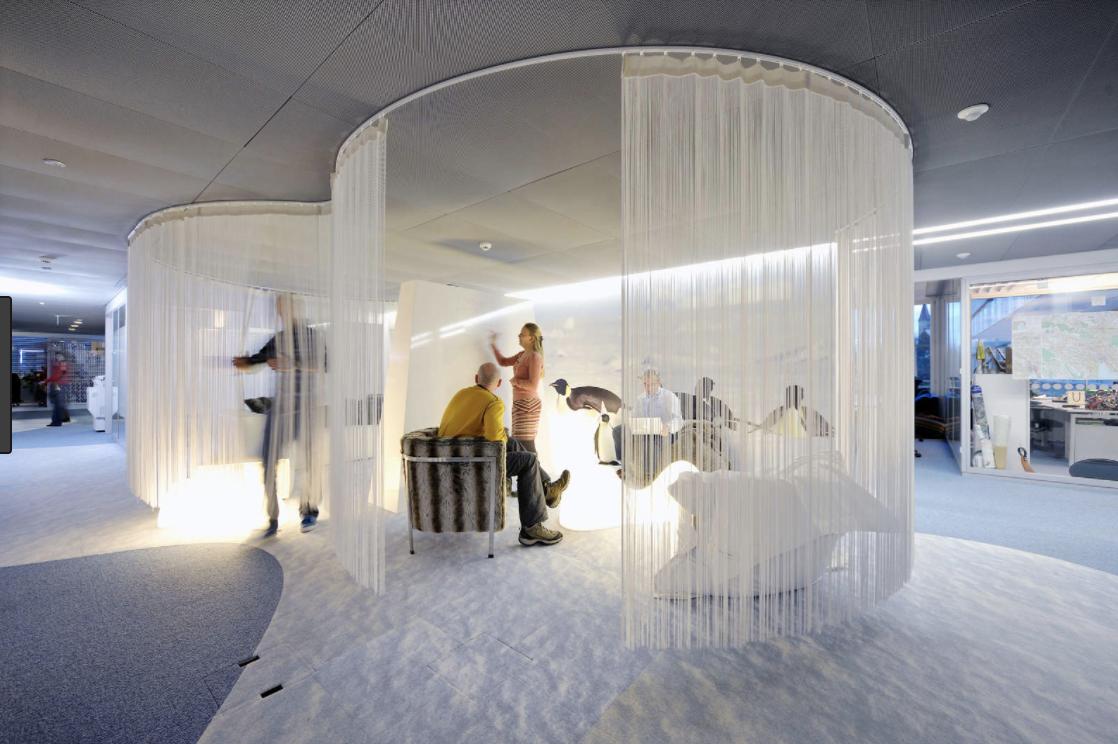 Creative office : Google Switzerland HQ