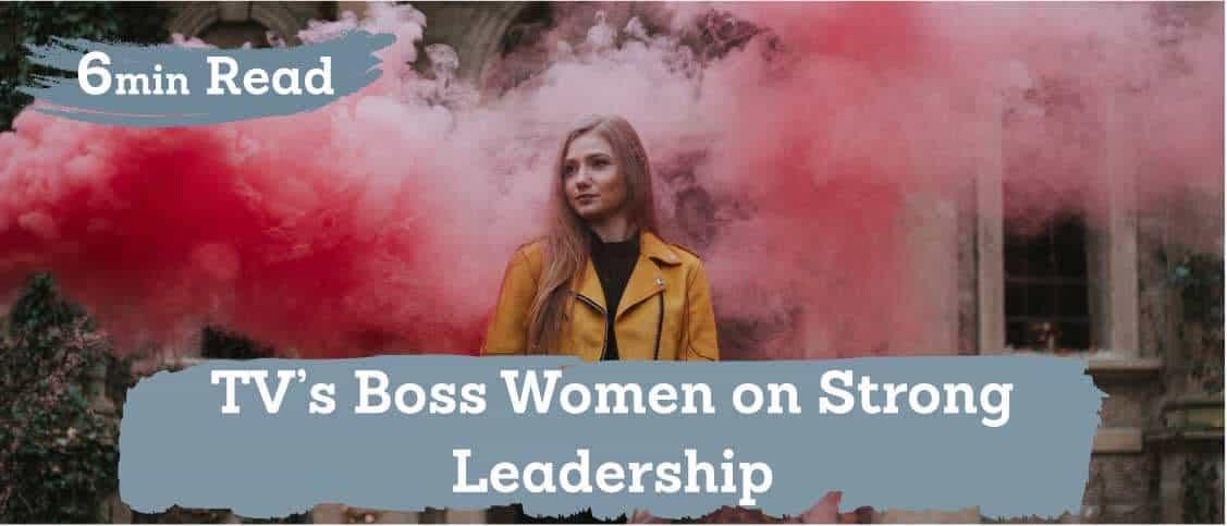 TV's boss women on leadership