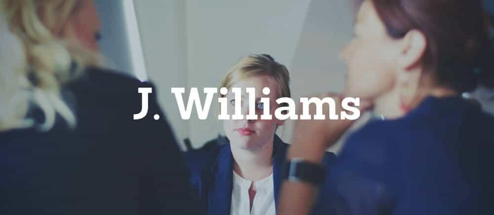 j williams