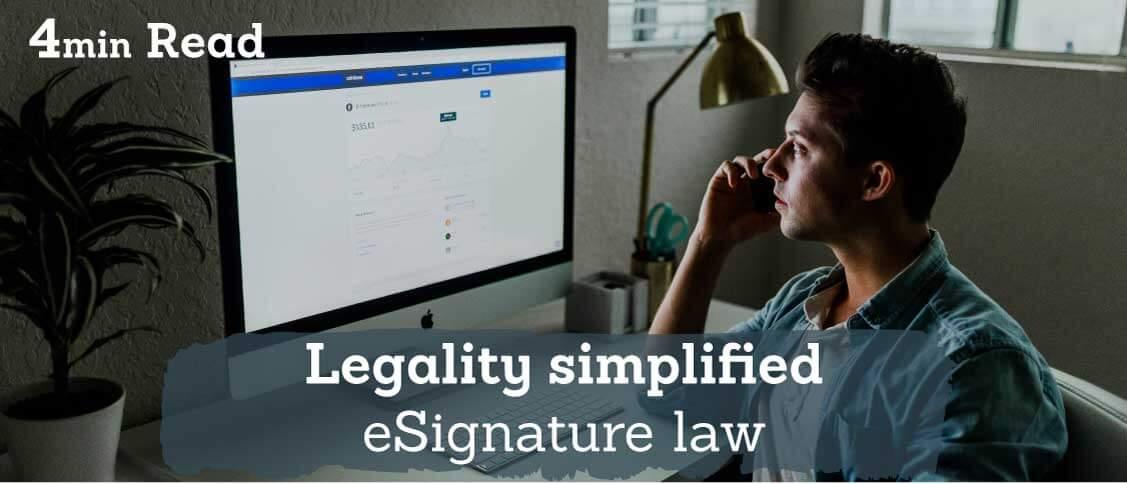 legal signature on documents