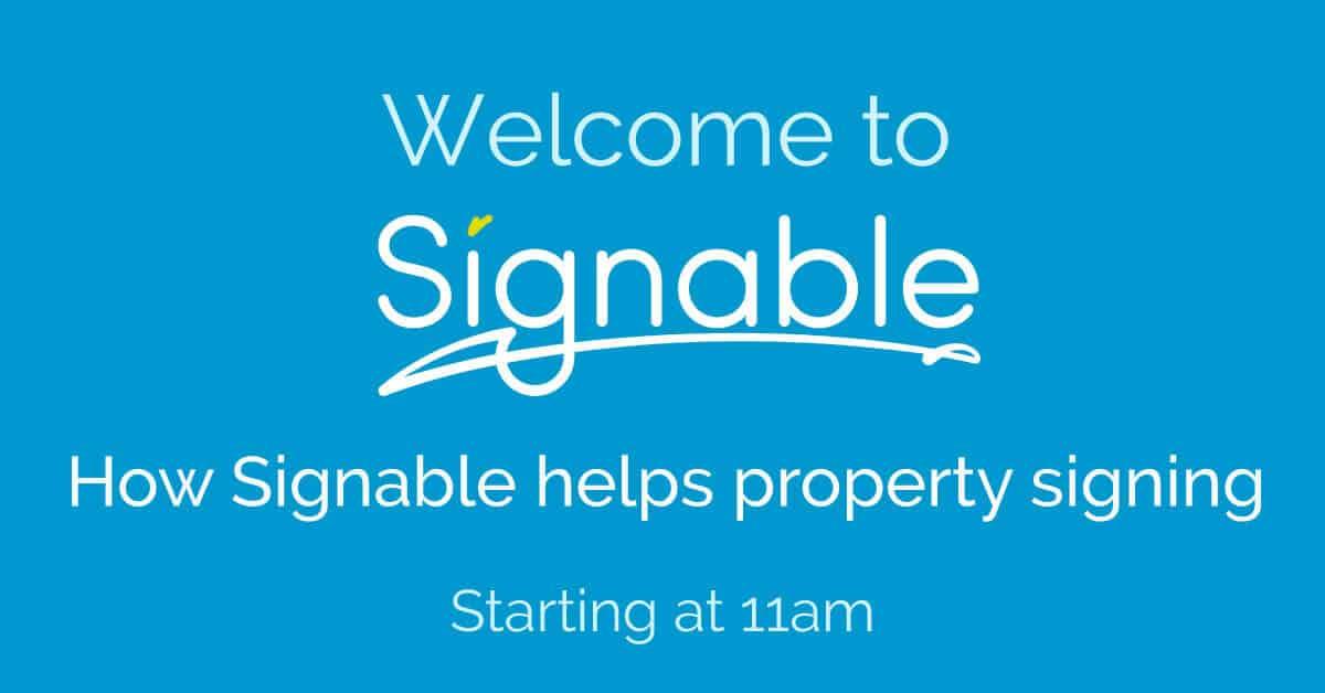 signable webinars