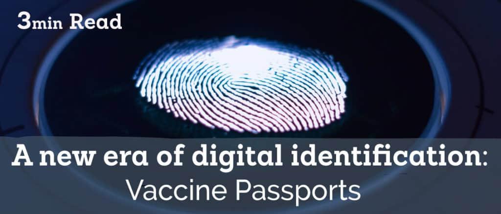 vaccine passports electronic signatures